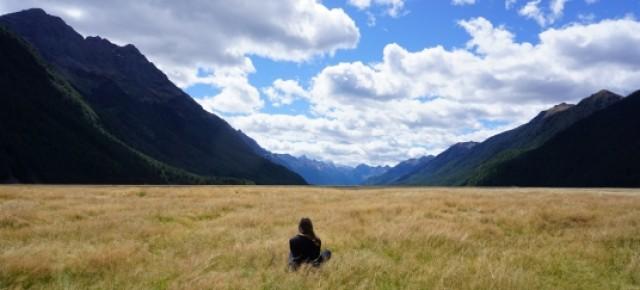 Steffi in Neuseeland